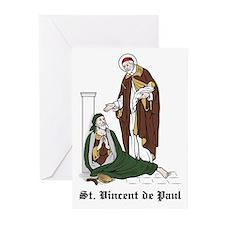 St. Vincent de Paul Greeting Cards (Pk of 10)