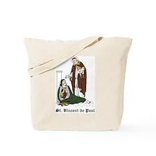 St. Vincent de Paul Tote Bag