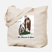 St. Vincent de Paul Tote Bag