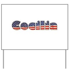American Cecilia Yard Sign