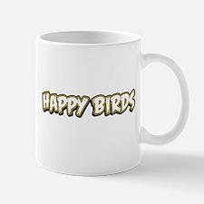 Funny Happy Birds Mug