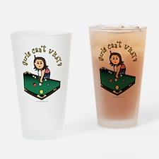 Light Billiards Drinking Glass