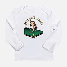 Light Billiards Long Sleeve Infant T-Shirt