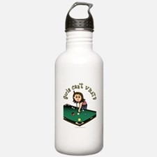 Light Billiards Water Bottle
