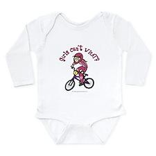 Light Pink BMX Long Sleeve Infant Bodysuit
