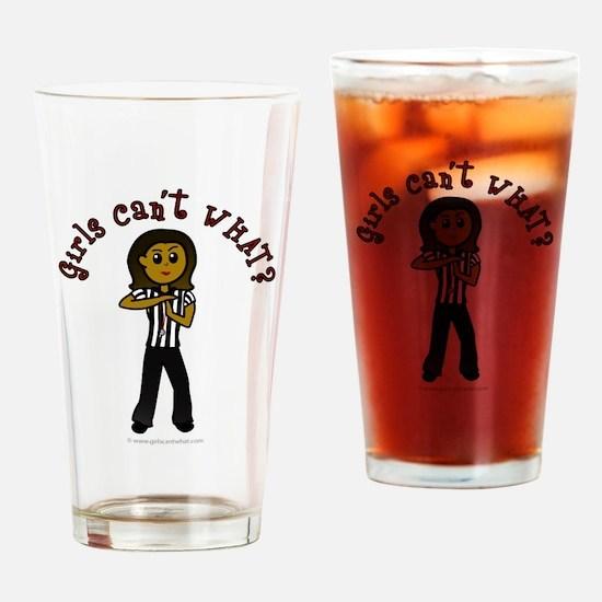 Dark Referee Drinking Glass
