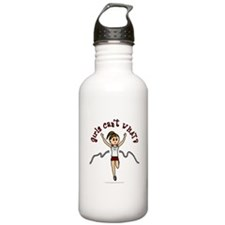 Light Red Running Water Bottle