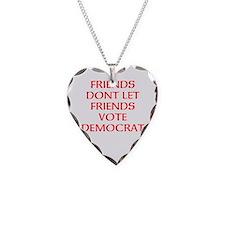 FRIENDS DONT DEM. Necklace