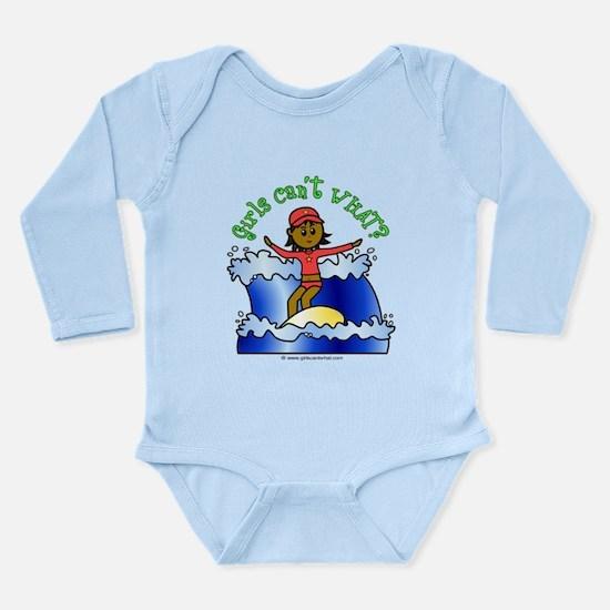 Dark Surfer Long Sleeve Infant Bodysuit