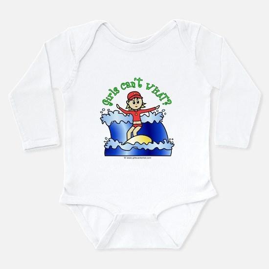 Light Surfing Long Sleeve Infant Bodysuit