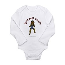 Dark Wrestler Long Sleeve Infant Bodysuit