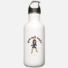 Light Wrestler Water Bottle
