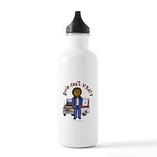 Dark EMT-Paramedic Water Bottle