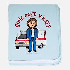 Light EMT-Paramedic baby blanket