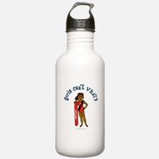 Dark Lifeguard Water Bottle