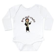 Light Preacher Long Sleeve Infant Bodysuit