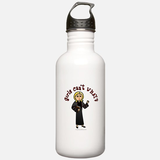 Blonde Pastor Water Bottle