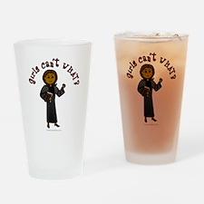 Dark Pastor Drinking Glass