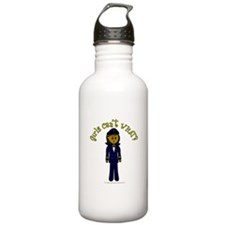 Dark Airline Pilot Water Bottle