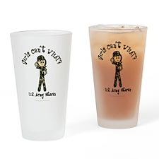 Light Army Veteran Drinking Glass