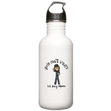 Light Navy Veteran (Blue Camo) Water Bottle