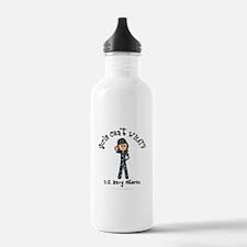 Light Navy Veteran (Blue Camo) Water Bottle