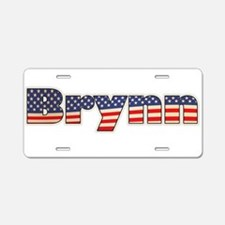 American Brynn Aluminum License Plate