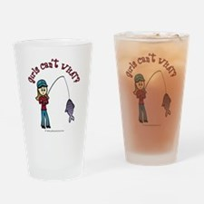 Light Fishing Drinking Glass