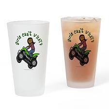 Dark Four-Wheeler Drinking Glass