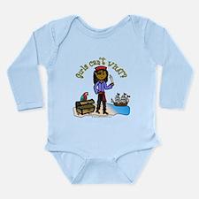Dark Pirate Long Sleeve Infant Bodysuit