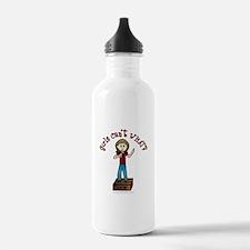 Light Soapbox Water Bottle