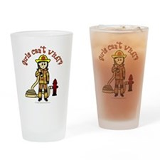 Personalized Firefighter Drinking Glass