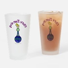 Rule the World Drinking Glass