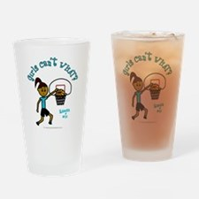 Basketball-Raegan Drinking Glass