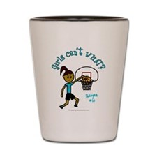 Basketball-Raegan Shot Glass