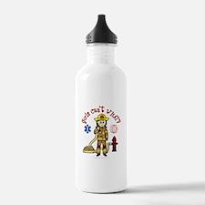 Custom Firefighter Water Bottle
