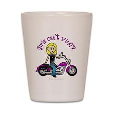 Custom Biker Shot Glass