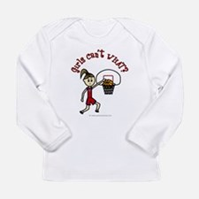 (Lady Torches-1) Basketball Long Sleeve Infant T-S