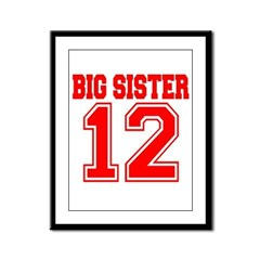 Big Sister 2012 Framed Panel Print