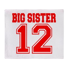 Big Sister 2012 Throw Blanket