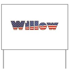 American Willow Yard Sign