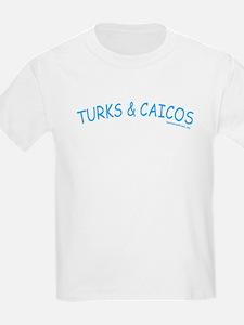 Turks & Caicos - Kids T-Shirt