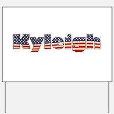 American Kyleigh Yard Sign