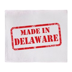 MADE IN DELAWARE Throw Blanket