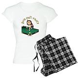 Pool billiards T-Shirt / Pajams Pants