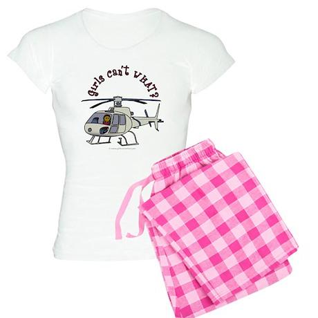 Dark Helicopter Pilot Women's Light Pajamas