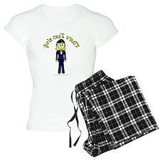 Light Airline Pilot Pajamas