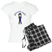 Light Police Woman pajamas