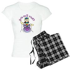 Light Girl Drummer Pajamas