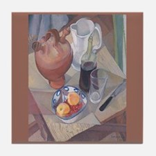 Diego Rivera Still Life Art Tile Tile Coaster